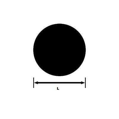 Bara rotunda trasa - ENAW 7075  EN 754