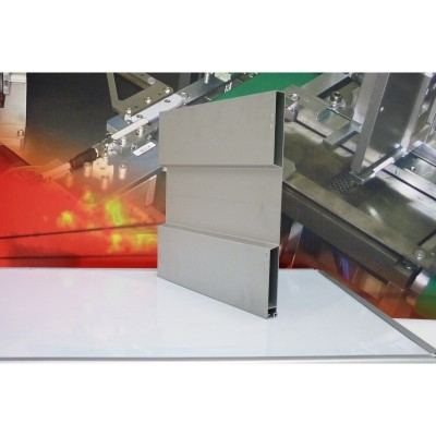 Profil oblon monobloc de 400 mm cu etansare anodizat