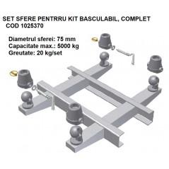 Set sfere basculare 5 tone