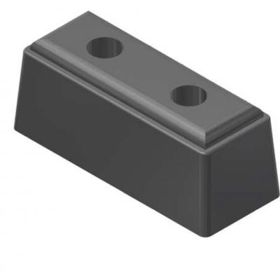 Tampon cauciuc lungime 200 mm cu sectiune de 80 x 80 mm