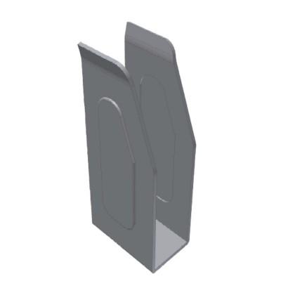 Suport din otel pentru profil prelata cod 1032226 25 mm