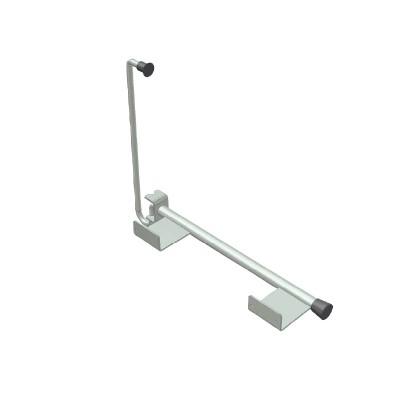 Blocator zincat usa cu arc 460 mm