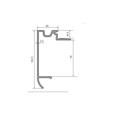 Profil cadru 70 mm